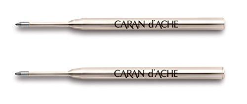 Caran d'Ache'Goliath' Ballpoint Pen Refill - Blue (Pack of 2)