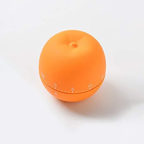 XYXZ Temporizador De Cocina Mecánico Temporizador De Modelado De Frutas Lindas Modelado De Verduras Temporizador De Cocina Mecánico Temporizador De 60 Minutos Recordatorio Naranja