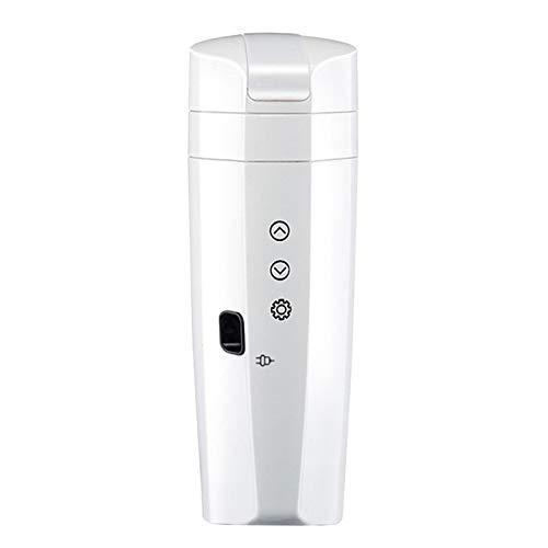 Taza calefactora para automóvil con pantalla LCD, hervidor eléctrico con temperatura ajustable...