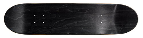 Ridge Skateboards Ridge Concave Deck- Black Design 32x 8 Skateboard, Schwarz, 328 Inch