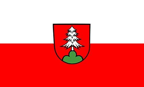 Unbekannt magFlags Tisch-Fahne/Tisch-Flagge: Durlangen 15x25cm inkl. Tisch-Ständer