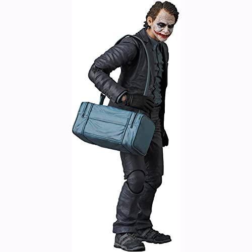 Yuxunqin The Dark Knight:The Joker MAF EX 6 Pulgadas de Figuras de acción de la Estatua de PVC(versión robadora de Banco)