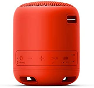 Sony SRS-XB12 Extra Bass Portable Wireless Speaker with Bluetooth®, Red