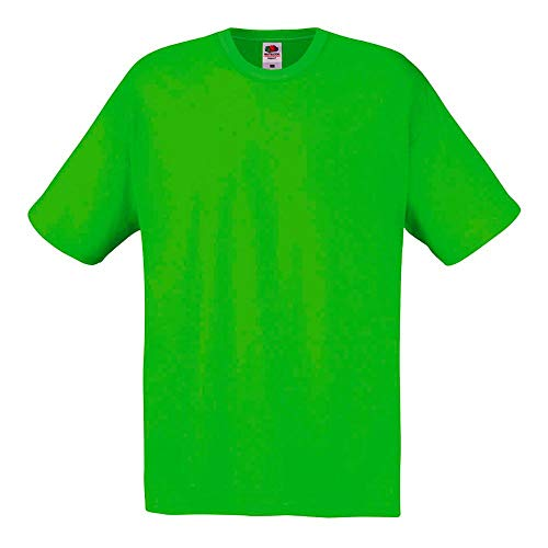 Fruit of the Loom - T-Shirt 'Original T' / Lime, S