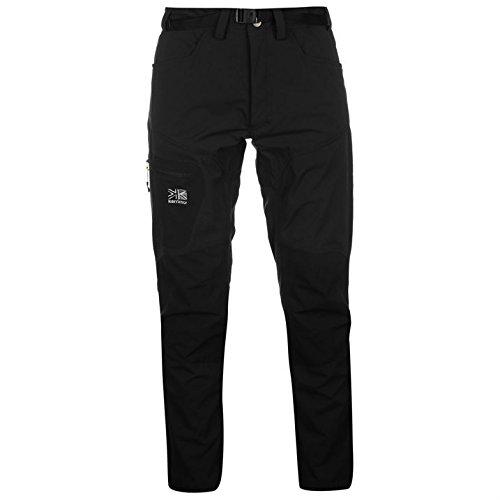 Karrimor Mens Hot Rock Trousers Lightweight Waterproof Pants Casual Bottoms Black L