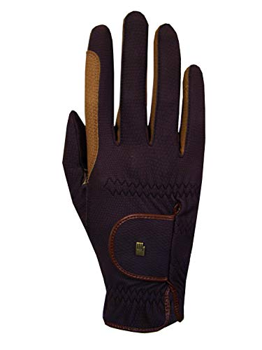 Roeckl Sports Handschuhe Malta, Unisex Reithandschuhe, Mokka, 9