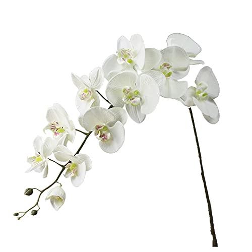 Flor Artificial Phalaenopsis Ramo de orquídeas Flor Artificial orquídea Boda Fiesta jardín decoración del hogar