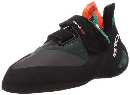 adidas Asym, Chaussure de Piste d'athlétisme Homme, Vert Noir Orange,