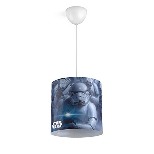 Philips 717519916 Disney Star Wars Stormtroopers Suspension/Lustre Plastique E27 Noir 26 x 26 x 113,8 cm