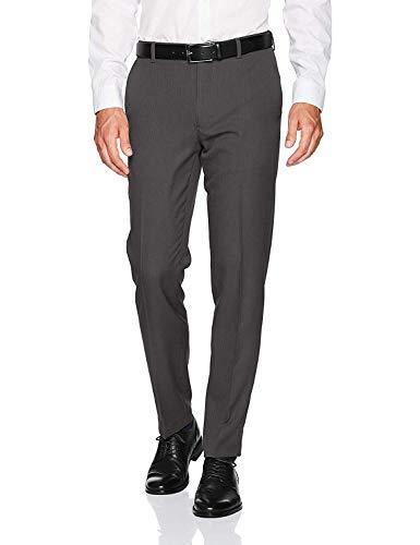 Van Heusen Men's Slim Fit Stretch Flat Front Traveler Pant