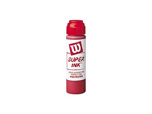 Wilson Stencil Ink, Pennarello per Corde Unisex-Adulto, Rosso, Taglia Unica
