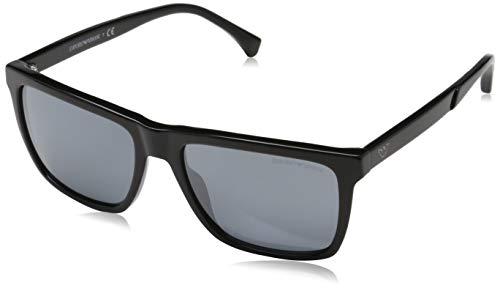 Emporio Armani 0EA4117 Gafas de sol, Black, 57 para Hombre