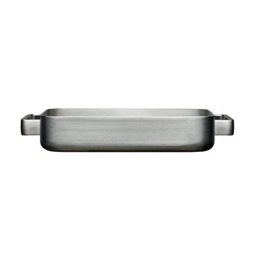 Iittala Tools - Ofenbräter - Backofenpfanne - Klein - 36 x 24 x 6 cm - Gebürsteter Edelstahl