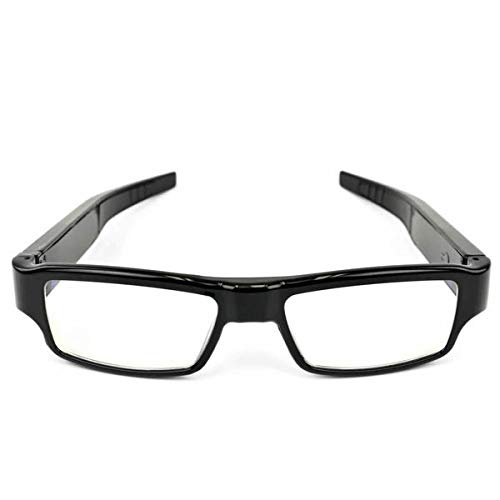 Eurowebb - Gafas con Mini cámara espía Full HD 1080P, 16 GB, Color Negro