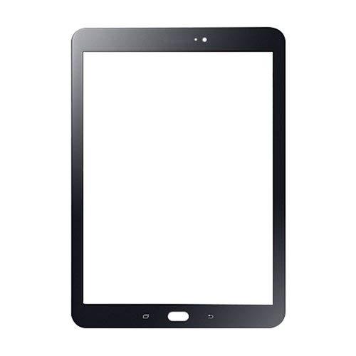 LeHang Schermo Anteriore in Vetro per Samsung Galaxy Tab S3 SM-T820 T825 da 9,7'Nero