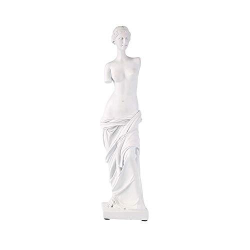 YWXKA Garten Aquarium Dekoration, Harz-Venus-Göttin Skulptur, Kunst Statue Modell für Haupthofdekorationen Bar