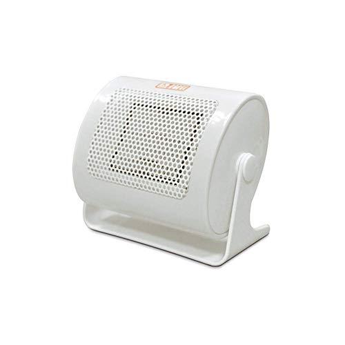 WYZQ Calentador de cerámica eléctrico 220V 500W Invierno cálido Mini Ventilador de Escritorio Calentador de hogar Forzado para Uso doméstico y de Oficina Calefacción Refrigeración Calidad del
