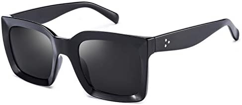 Mosanana Square sunglasses for women 2020 fashion trendy stylish trending black dark retro vintage product image