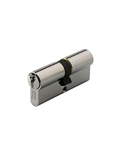 Vachette - Cylindre de serrure 7001-coloris nickele varie - Type.2 entrées - Dim mm.30 x 30 -