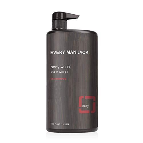 Every Man Jack Body Wash, Cedarwood 33.8-ounce