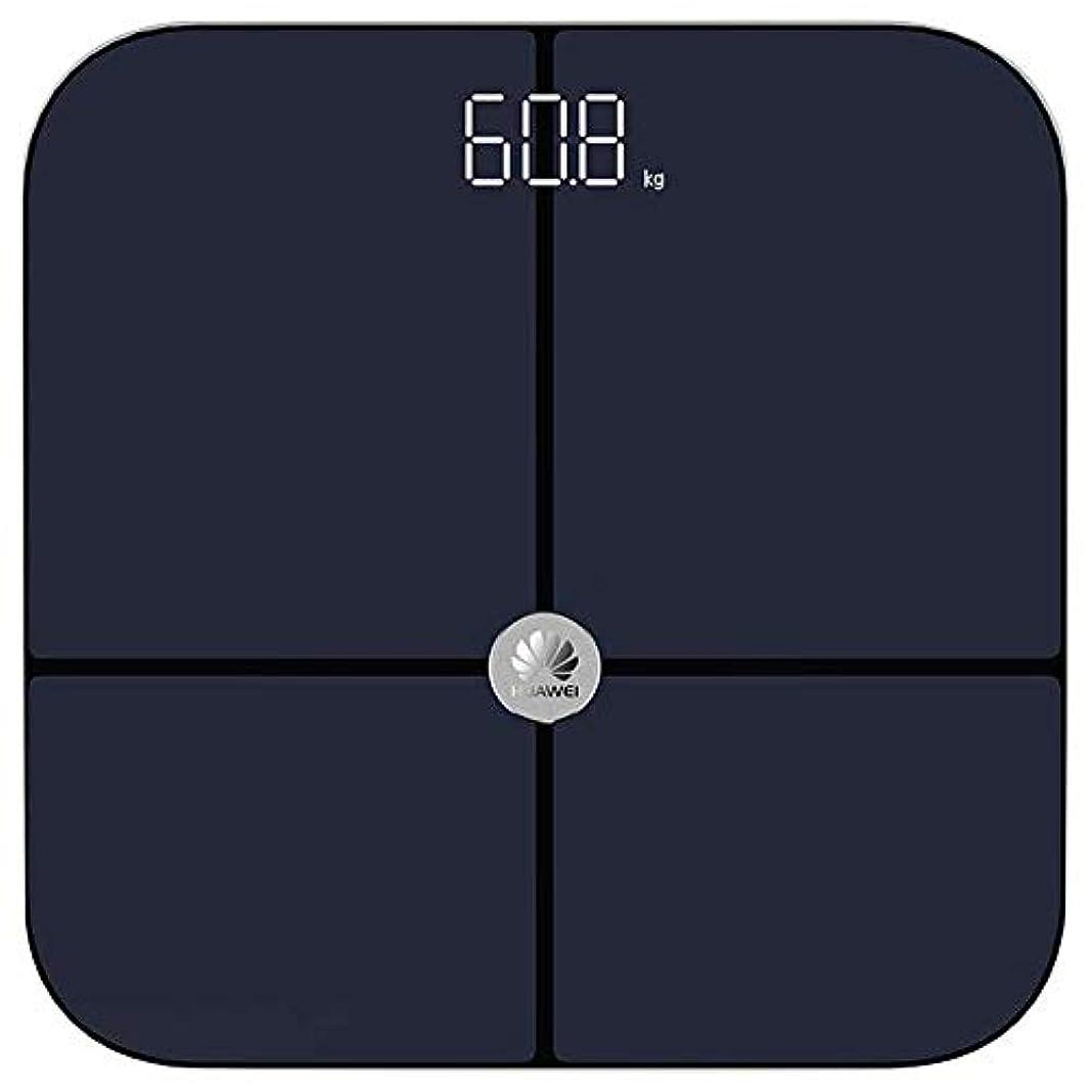 極地キノコ毛細血管Huawei 体重計 スマートスケール 体脂肪 体組成計 iPhone iOS Android 黒 【並行輸入品】