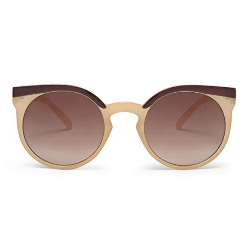 Charly Therapy LIS1 Lady - Gafas de sol (montura de policarbonato), color crema