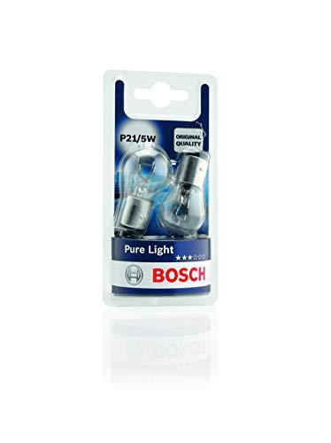 Lámparas Bosch para vehículos Pure Light P21/5W 12V 21/5W BAY15d (Lámpara x2)