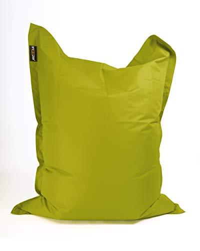 SNOOZER® Riesensitzsack Indoor Outdoor XXL Sitzsack 380l Füllung Green