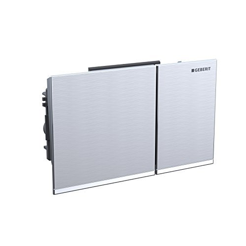 Geberit 115.081.SI.1 Actuator Plate Omega 60 Tank by Geberit