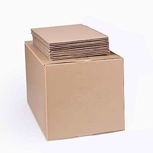 YI-LIGHT Cartón, Paquete de 5, tamaño 24'L x 16' W x 20'H, Cajas de envío Grandes, cartón Corrugado Engrosado Cajas de Embalaje para envío, Embalaje y mudanza
