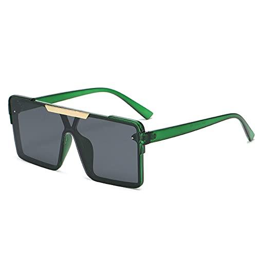 TTWLJJ Gafas de Sol polarizadas Hombre Mujere Retro/Aire Libre Deportes Golf Ciclismo Pesca Senderismo protección UVA Gafas Unisex Golf conducción Gafas Gafas de Sol,Verde