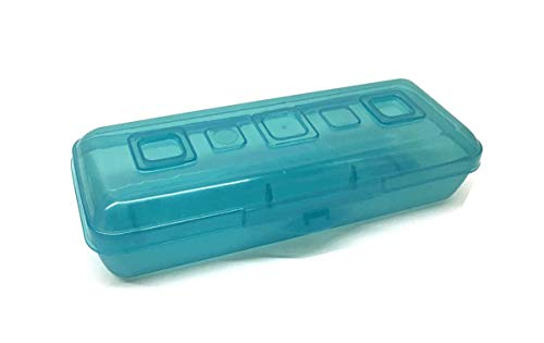 1721- Mini Pencil Box with Splash Tint Lid Set