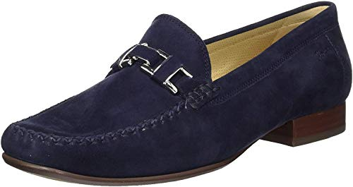 Sioux Damen Cambria Mokassin, Blau (Night 008), 44 EU(9.5 UK)