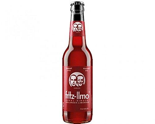 12 Flaschen a Fritz Limo Apfel Kirsch Holunder a 0,33Linc. 0.96€ MEHRWEG Pfand