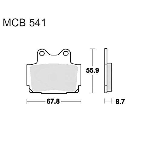 TRW Lucas Bremsklötze Standard f. Yamaha FZR 400 RR uvm. MCB541 3322937090044