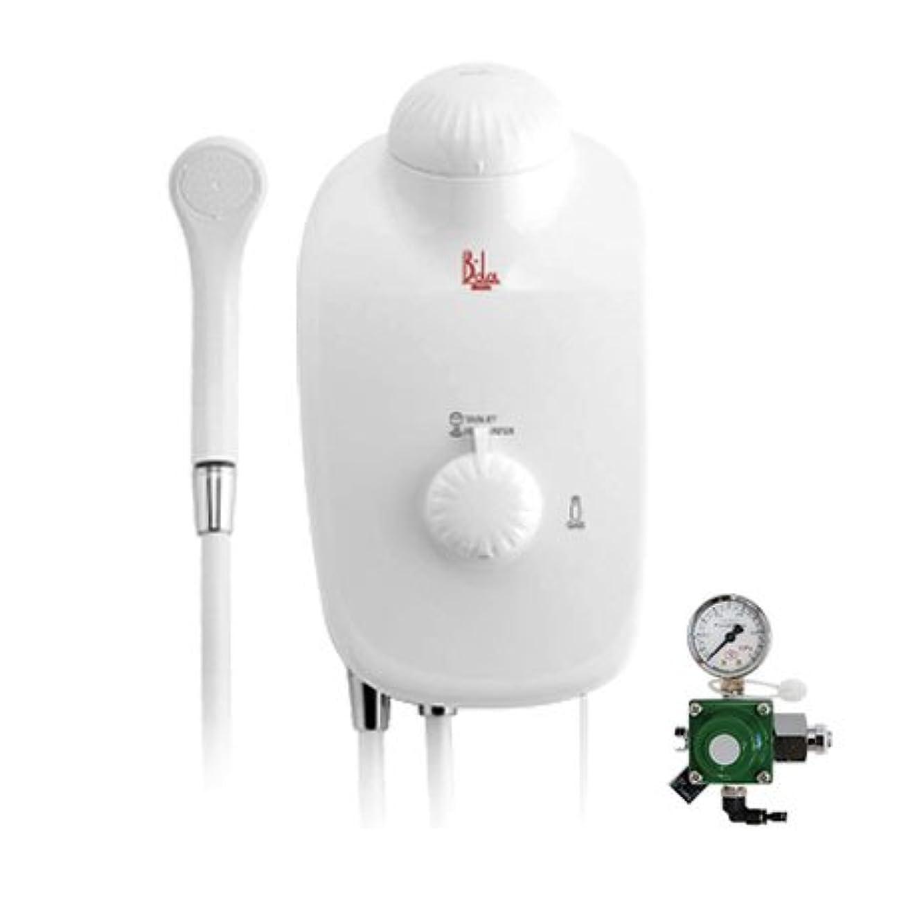 メロドラマティック慢なパフ高濃度炭酸泉装置 B-da(ビーダ)本体セット?ガス圧調節器付き