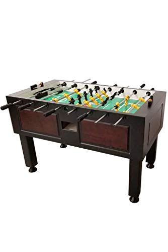 Tornado Foosball Table - Commercial Tournament Quality Table Soccer Game for The Home (Worthington Two Tone)