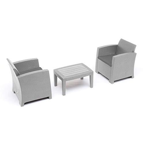 GS1 Suiza, Juego de sillones y Mesa para Hotel y Bed and Breakfast sofá para Exteriores