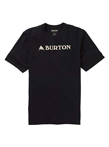 Burton Herren Horizontal Mountain T-Shirt, True Black, M