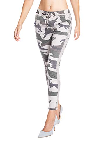 Blue Monkey Damen Jogg Pants Kelly-1888 Camouflage 28/32