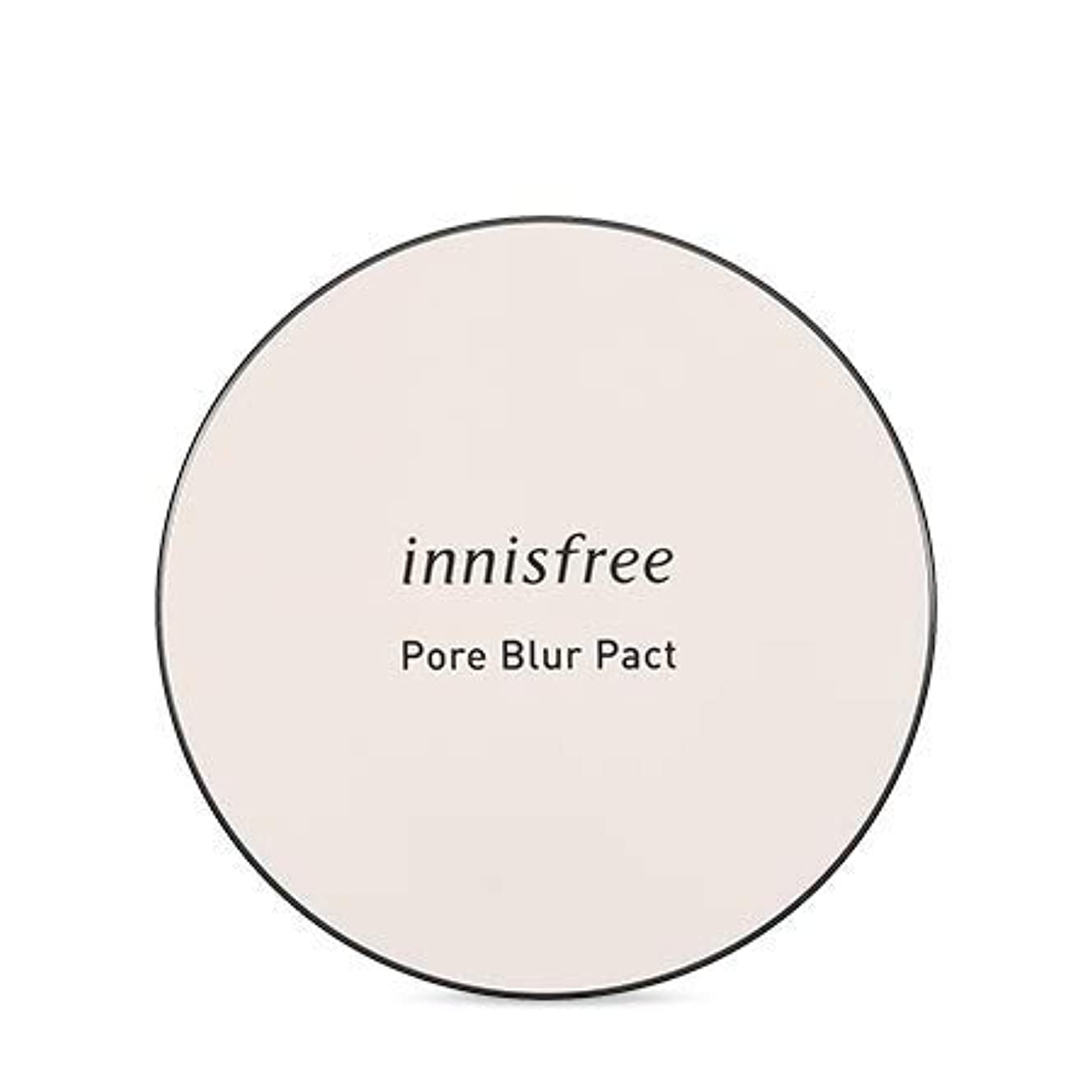 期限鰐無実[イニスフリー.INNISFREE]フォアブラーファクト12.5g(2019.05新発売)/ Pore Blur Pact