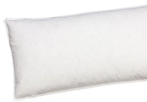 Moon Basic - Cuscino a 3 camere in piuma d'oca e piumino (cuscino 40 x 80)