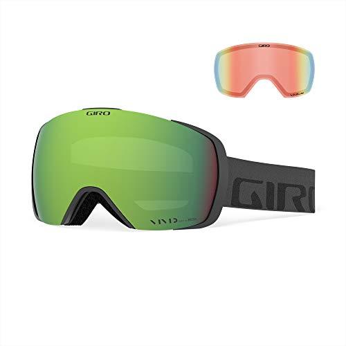 Giro Contact Masque de Ski/Snow, Unisexe pour Adulte Taille Unique Inscription Grise