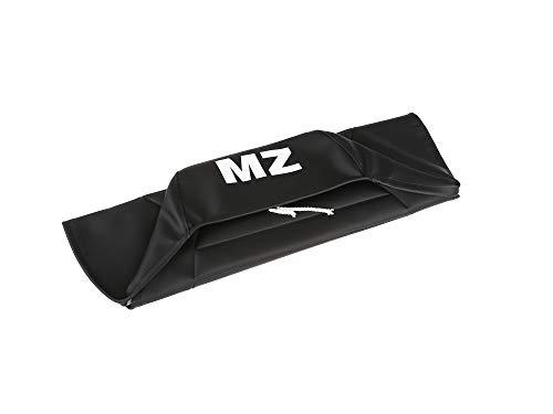 FEZ Sitzbezug strukturiert, schwarz mit MZ-Schriftzug - für MZ ETZ125, ETZ150, ETZ251, ETZ301