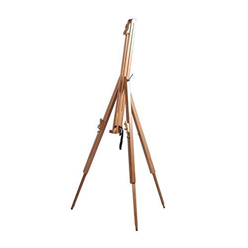 DESIGN DELIGHTS TRAGBARE Feld STAFFELEI Magnus aus geöltem Buchenholz Feldstaffelei für Keilrahmen bis 100cm