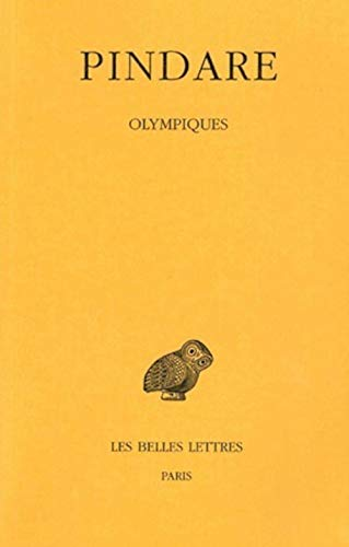 Pindare, Tome I: Olympiques: 1