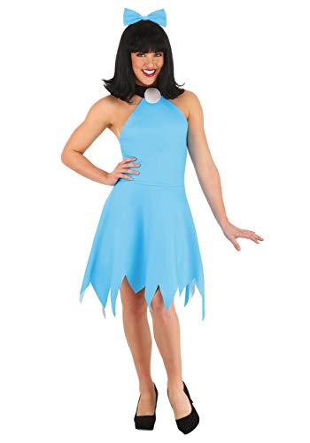 Plus Size Betty Rubble Costume 2X Blue