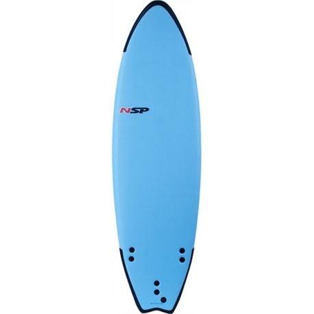 'Tavola da surf 6' 0Fish P2Soft NSP, blu