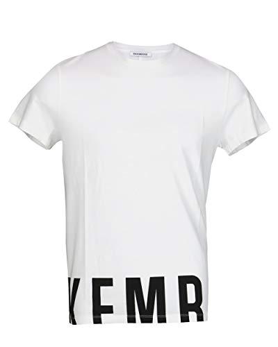 BIKKEMBERGS - Herren T-Shirt Dirk C727SH1EB089 - Weiß, XL