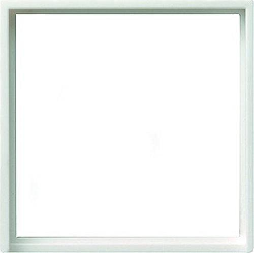 Rademacher 2311788 GIRA Adapterrahmen 028227 50x50 Quad System 55 rw matt, Weiß